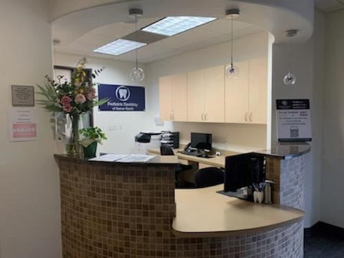 Front Desk at Pediatric Dentistry of Steiner Ranch